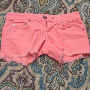 American Eagle Outfitters Shorts - Neon pink American eagle shorts